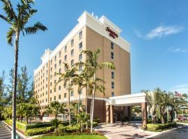 Hampton Inn Hallandale Beach-Aventura, hotel em Hollywood
