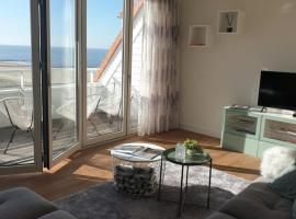 Windkracht 10 Penthouse in Badhuis Cadzand, spahotel in Cadzand