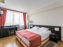 Гостиница Университетская, отель в Москве, рядом находится Природный заказник «Воробьевы горы»