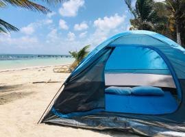 Camping Lunas Bar, càmping a Mahahual