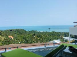 Villa Panoramic Ocean View - 2 Bedrooms: Ko Samui'de bir otel