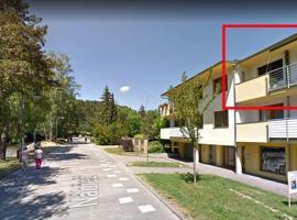 Apartmán Hanička, apartment in Luhačovice