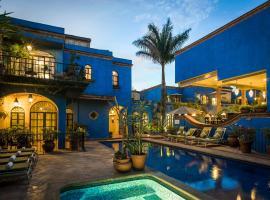 La Villa del Ensueno Boutique Hotel, hotel in Guadalajara