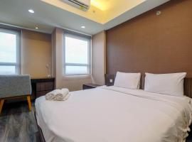 Fully Furnished and Comfortable 1BR Mustika Golf Apartment By Travelio
