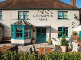The Carnarvon Arms, hotel near Highclere Castle, Newbury