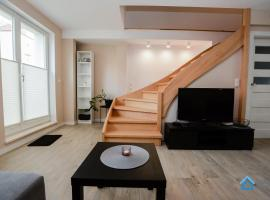 Family house with backyard, hotel in Gdynia