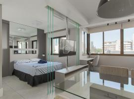 Studio lindo e completo região Moinhos - c/ garagem, apartment in Porto Alegre
