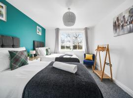 Modern Luxury 2 Bed Apartment 6 Guests En-Suite Netflix Wi-Fi, hotel in Basildon