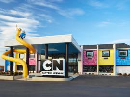 Cartoon Network Hotel, hotel in Lancaster