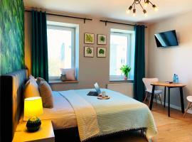 Nettuno Aparts - Manufaktura – hotel w pobliżu miejsca Centrum handlowe Manufaktura w Łodzi