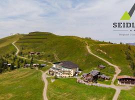 Mountainlovers Berghotel SeidlAlm, hotel in Saalbach Hinterglemm