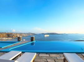 Aeri Villas & Apartments, hotel near Mykonos New Port, Tourlos