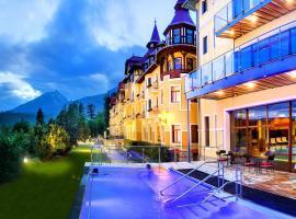 Grand Hotel Praha, hotel v Tatranskej Lomnici