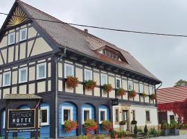 Hotel Zittauer Hütte, Hotel in Kurort Jonsdorf