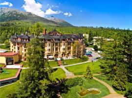 Grand hotel Starý Smokovec, hotel in Vysoké Tatry