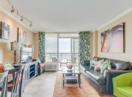 Spectacular Oceanfront Condo Boardwalk 433, apartment in Myrtle Beach