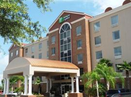 Holiday Inn Express Hotel & Suites Orange City - Deltona, hotel near Orlando Sanford International Airport - SFB, Orange City