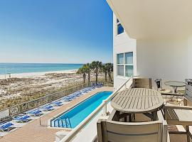 New Listing! Gulf-Front Getaway w/ Pools & Hot Tub condo, apartment in Pensacola