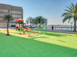 RH - Dreamy 1BR with Lagoon Views, apartment in Ras al Khaimah