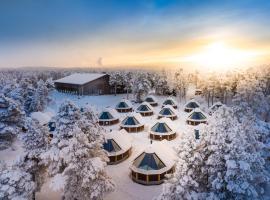 Wilderness Hotel Inari & Igloos, hotelli Inarissa