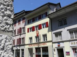 Hotel Roter Ochsen, Hotel in Solothurn