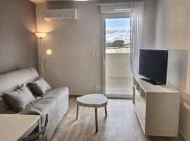 Appartement neuf pour 4 personnes + bébé, pet-friendly hotel in Valras-Plage