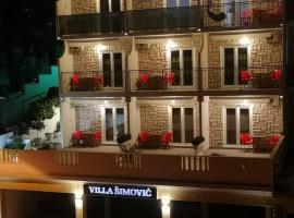 Villa Šimović, room in Baška Voda