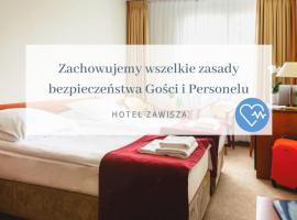 Hotel Zawisza – hotel w pobliżu miejsca PKP Bydgoszcz Główna w Bydgoszczy