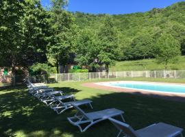 Grand Vabre Nature, villa in Conques