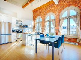 Les Lofts 1048, hotel in Quebec City