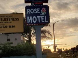 Rose motel, hotel near Third Street Promenade, Compton