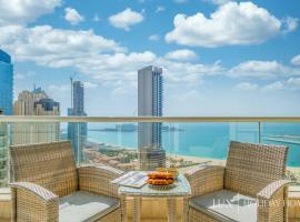 LUX - The Dubai Marina Sea View Suite, apartman u Dubaiju