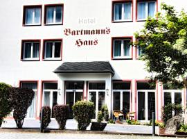 Hotel Bartmanns Haus, Hotel in Dillenburg