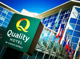 Quality Hotel Brno Exhibition Centre, отель в Брно