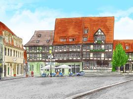 Hotel Zur Goldenen Sonne, apartment in Quedlinburg