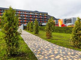 TIRVAS Hotel&Spa, hotel with jacuzzis in Kirovsk