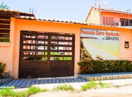 Pousada Carro Quebrado, hotel in Barra de Santo Antônio