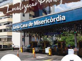 FICARE POA - 3min do Complexo Hospitalar Santa Casa, hotel in Porto Alegre City Centre, Porto Alegre