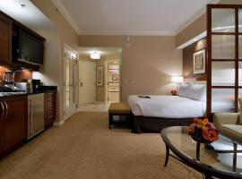 Junior suite 18th floor at The Signature MGM, hotel Las Vegasban