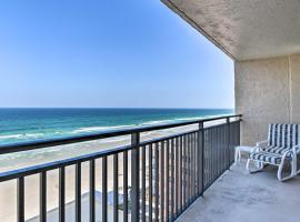 Oceanfront Condo with Views & Tennis Courts!, vacation rental in New Smyrna Beach