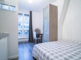 HostnFly apartments - Beautiful bright studio near Père Lachaise, hotel in Paris