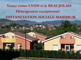 Au Beaujolais Saint Jean, hôtel à Belleville-sur-Saône