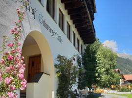 Hotel Schwarzer Adler, Hotel in Pettneu am Arlberg