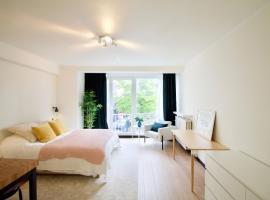 Splendid & cosy studio - perfect location 'Stephanie-Louise area', appartement à Bruxelles