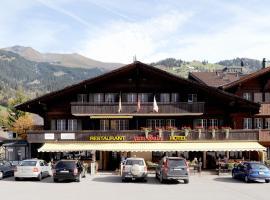 Hotel-Restaurant zum Gade, hotel in Lenk
