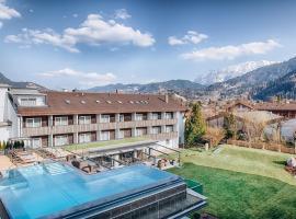Obermühle 4*S Boutique Resort, hotel in Garmisch-Partenkirchen