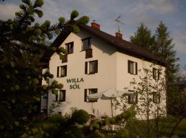 Willa Sól – hotel w pobliżu miejsca Wyciąg narciarski Białasówka w mieście Rajcza