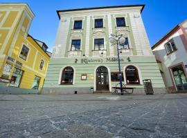 Penzion Měšťan, hotel in Jindřichŭv Hradec