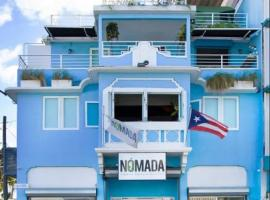 Nomada Urban Beach Hostel, hostel in San Juan