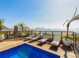 B&B Hotels Rio Copacabana Posto 5、リオデジャネイロ、コパカバーナのホテル